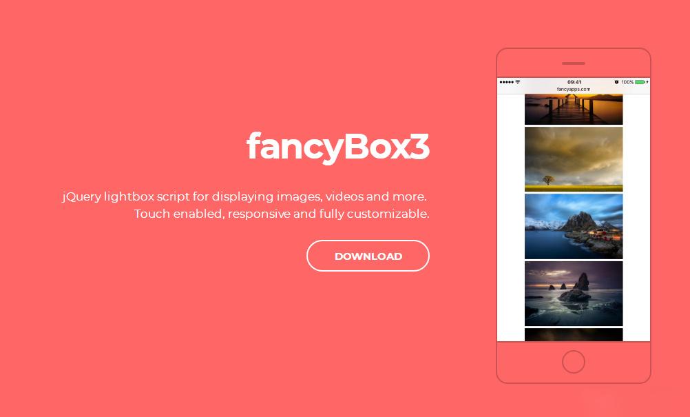 给文章页增加图片Fancybox灯箱效果/支持放大自动播放等